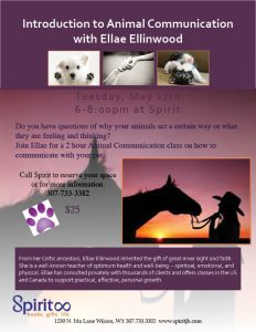 ELLAE ANIMAL COMMUNICATION May 16