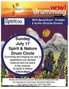 Drumming July 2016