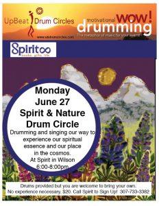 Spirit & Nature Drum Circle