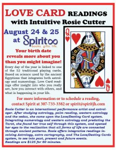 Love Card Readings with Rosie Cutter