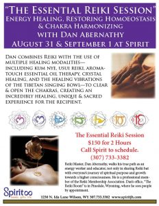 Essential Reiki Sessions with Dan Abernathy